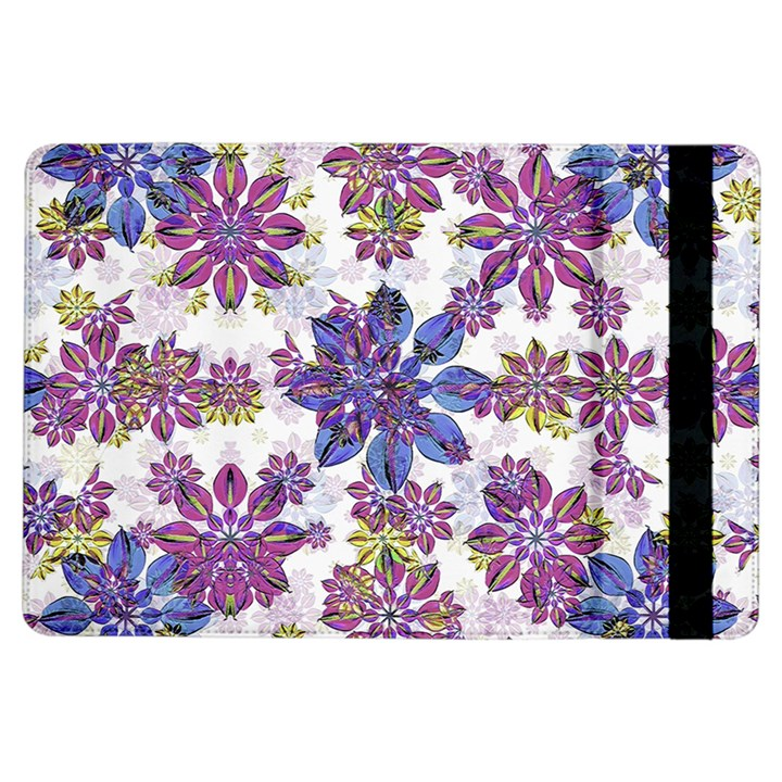 Stylized Floral Ornate Pattern iPad Air Flip