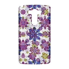 Stylized Floral Ornate Pattern LG G3 Hardshell Case