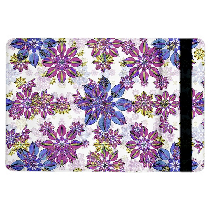 Stylized Floral Ornate Pattern iPad Air 2 Flip