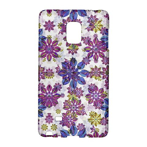 Stylized Floral Ornate Pattern Galaxy Note Edge