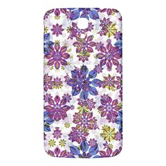 Stylized Floral Ornate Pattern Samsung Galaxy Mega I9200 Hardshell Back Case