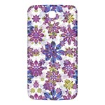 Stylized Floral Ornate Pattern Samsung Galaxy Mega I9200 Hardshell Back Case Front