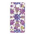 Stylized Floral Ornate Pattern Samsung Galaxy Alpha Hardshell Back Case Front