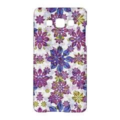 Stylized Floral Ornate Pattern Samsung Galaxy A5 Hardshell Case