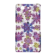 Stylized Floral Ornate Pattern Sony Xperia Z3 Compact