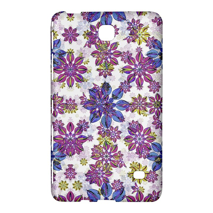 Stylized Floral Ornate Pattern Samsung Galaxy Tab 4 (7 ) Hardshell Case