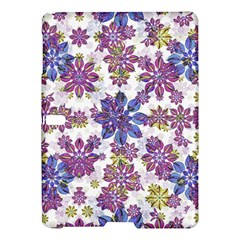 Stylized Floral Ornate Pattern Samsung Galaxy Tab S (10 5 ) Hardshell Case