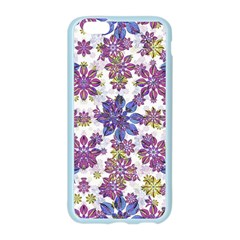 Stylized Floral Ornate Pattern Apple Seamless iPhone 6/6S Case (Color)