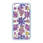 Stylized Floral Ornate Pattern Apple Seamless iPhone 6/6S Case (Color) Front