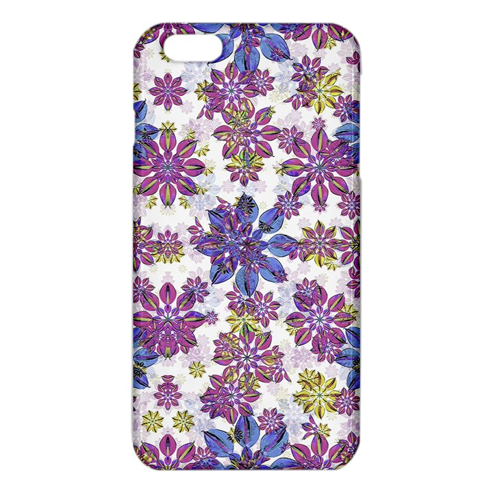 Stylized Floral Ornate Pattern iPhone 6 Plus/6S Plus TPU Case