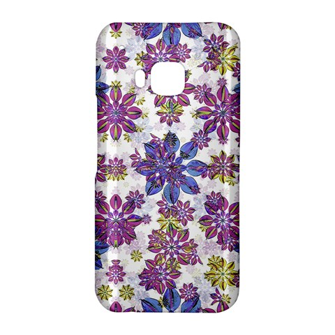 Stylized Floral Ornate Pattern HTC One M9 Hardshell Case