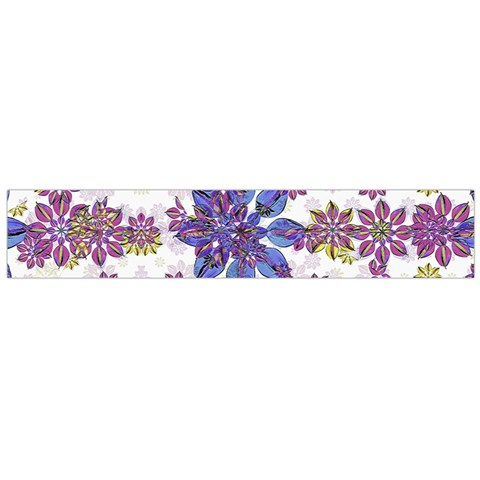Stylized Floral Ornate Flano Scarf (Large)