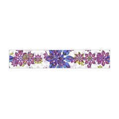 Stylized Floral Ornate Flano Scarf (Mini)