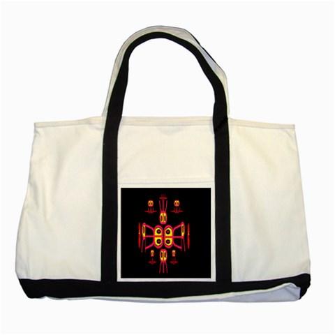 Alphabet Shirt R N R Two Tone Tote Bag