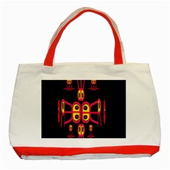 Alphabet Shirt R N R Classic Tote Bag (Red)