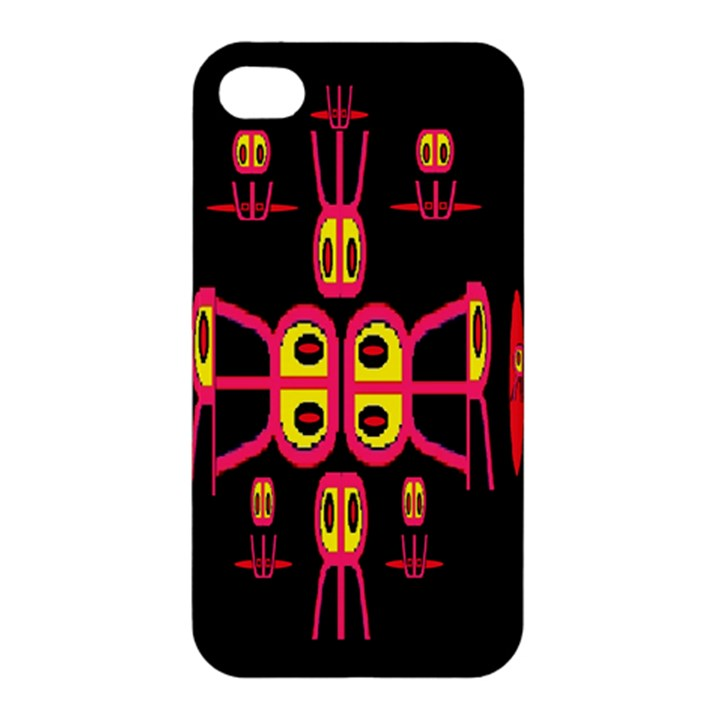 Alphabet Shirt R N R Apple iPhone 4/4S Hardshell Case