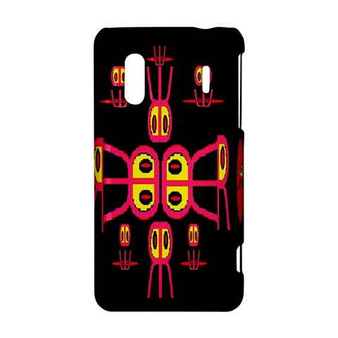 Alphabet Shirt R N R HTC Evo Design 4G/ Hero S Hardshell Case