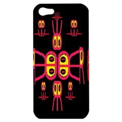 Alphabet Shirt R N R Apple iPhone 5 Hardshell Case