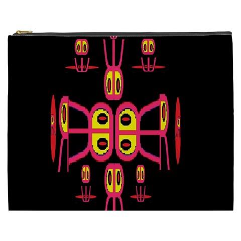 Alphabet Shirt R N R Cosmetic Bag (XXXL)