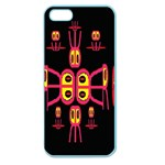 Alphabet Shirt R N R Apple Seamless iPhone 5 Case (Color) Front