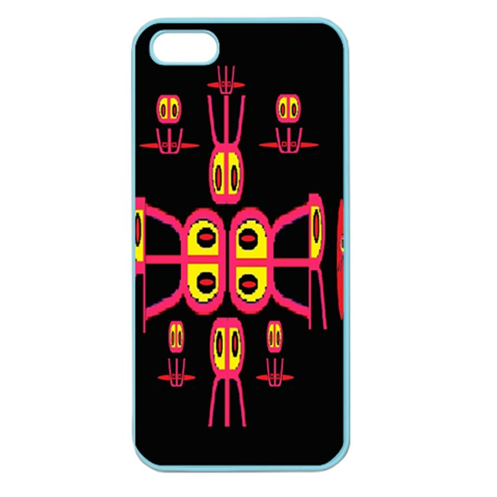 Alphabet Shirt R N R Apple Seamless iPhone 5 Case (Color)