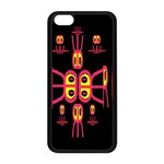 Alphabet Shirt R N R Apple iPhone 5C Seamless Case (Black) Front