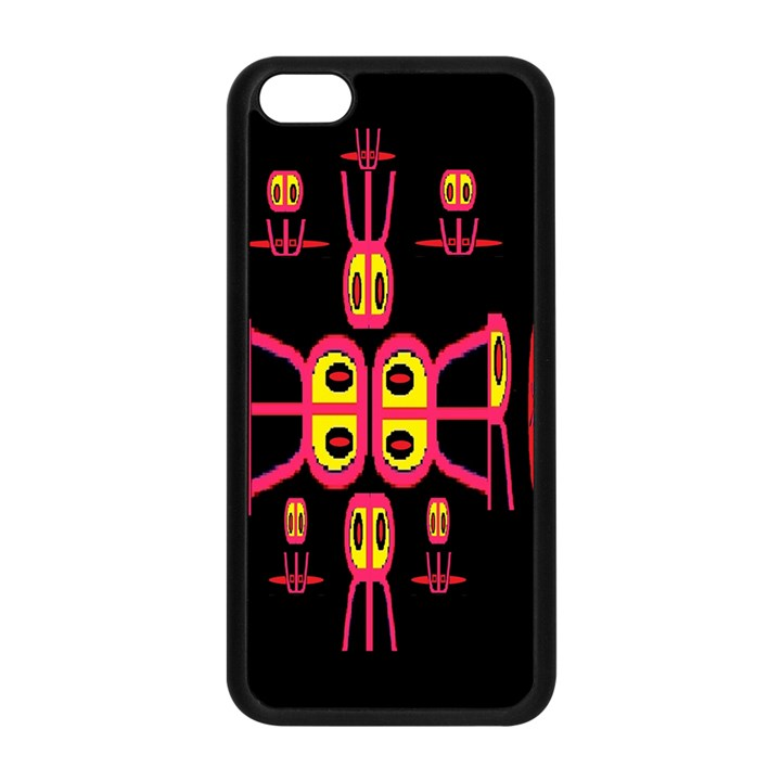 Alphabet Shirt R N R Apple iPhone 5C Seamless Case (Black)