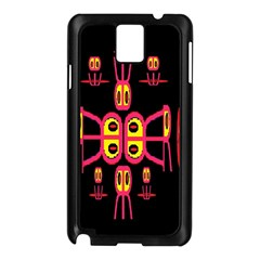 Alphabet Shirt R N R Samsung Galaxy Note 3 N9005 Case (Black)