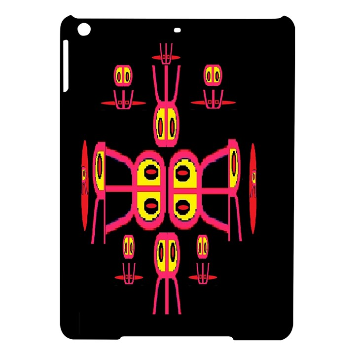 Alphabet Shirt R N R iPad Air Hardshell Cases