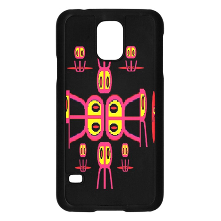 Alphabet Shirt R N R Samsung Galaxy S5 Case (Black)