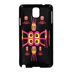 Alphabet Shirt R N R Samsung Galaxy Note 3 Neo Hardshell Case (Black)