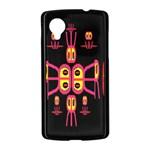 Alphabet Shirt R N R Nexus 5 Case (Black) Front