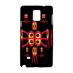 Alphabet Shirt R N R Samsung Galaxy Note 4 Hardshell Case