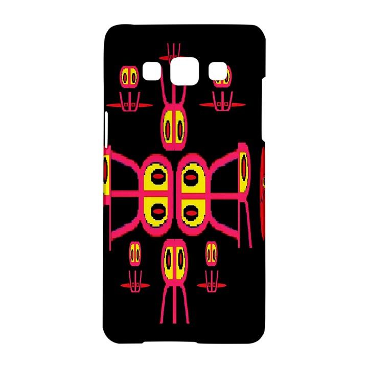 Alphabet Shirt R N R Samsung Galaxy A5 Hardshell Case