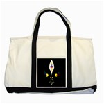 FLOWER OF LIFE TWO Two Tone Tote Bag Front