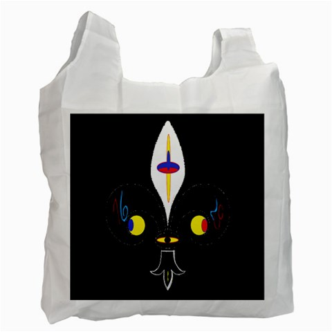 FLOWER OF LIFE TWO Recycle Bag (Two Side)