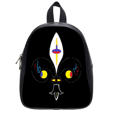 FLOWER OF LIFE TWO School Bags (Small)