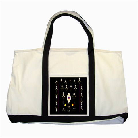 Clothing (25)gee8dvdynk,k;; Two Tone Tote Bag