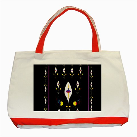 Clothing (25)gee8dvdynk,k;; Classic Tote Bag (Red)