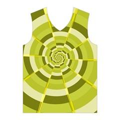 Crazy Dart Green Gold Spiral Men s Basketball Tank Top