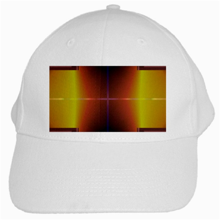 Abstract Painting White Cap
