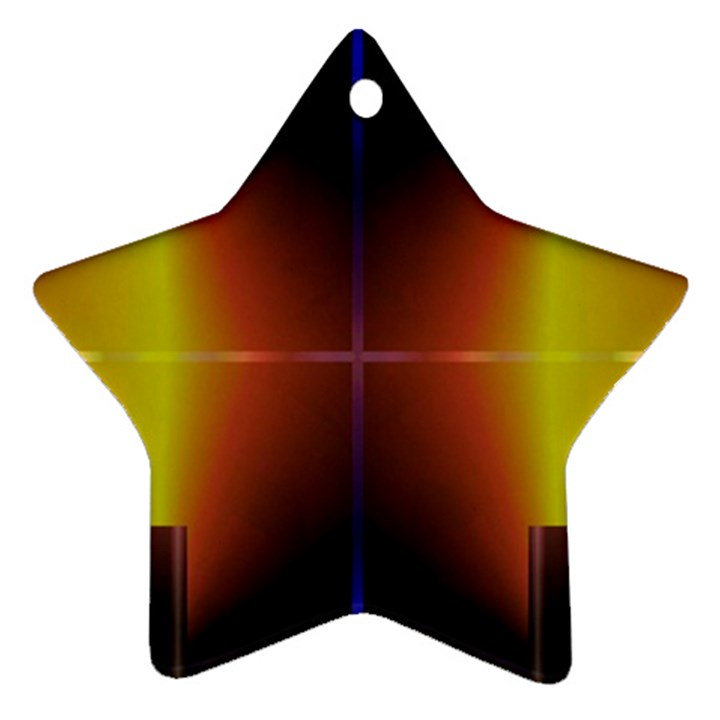 Abstract Painting Ornament (Star)