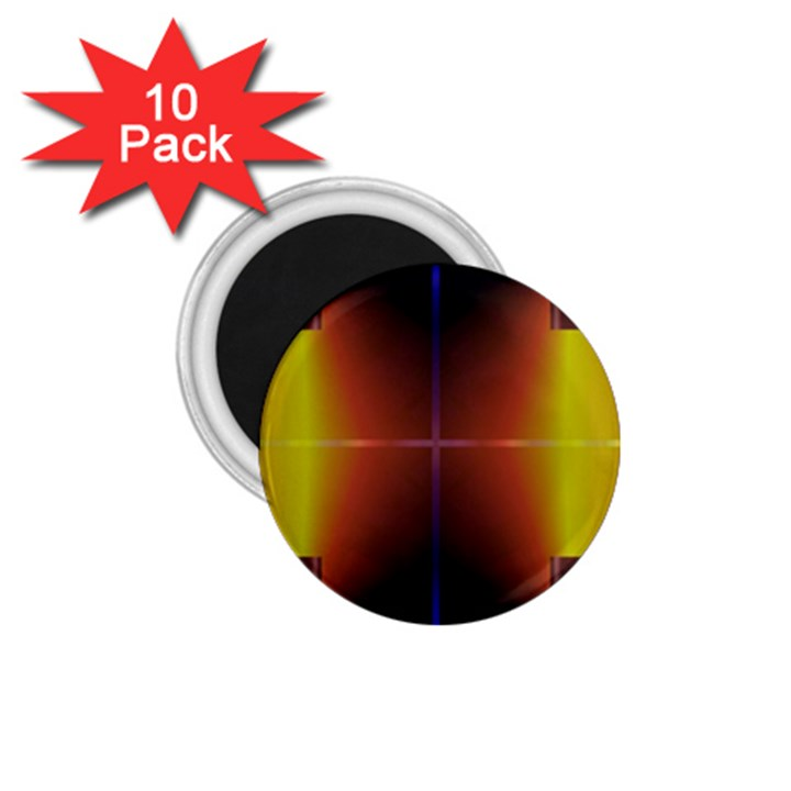 Abstract Painting 1.75  Magnets (10 pack)