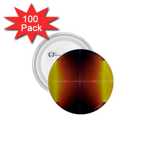 Abstract Painting 1.75  Buttons (100 pack)