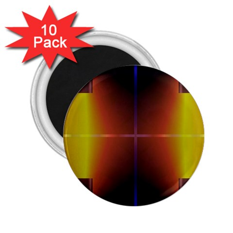 Abstract Painting 2.25  Magnets (10 pack)