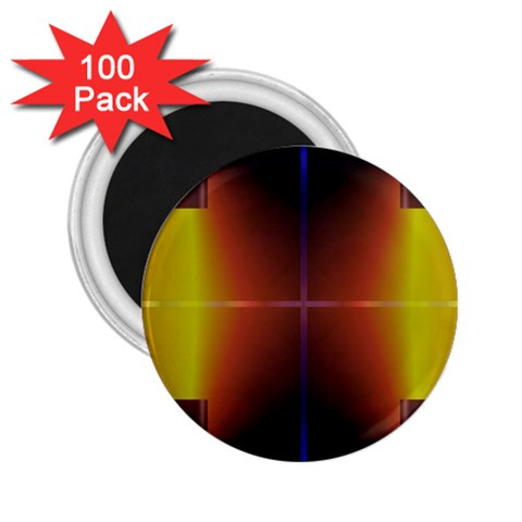Abstract Painting 2.25  Magnets (100 pack)