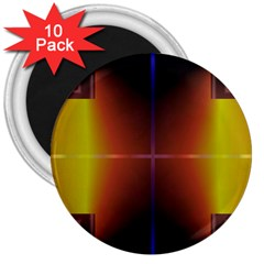 Abstract Painting 3  Magnets (10 pack)