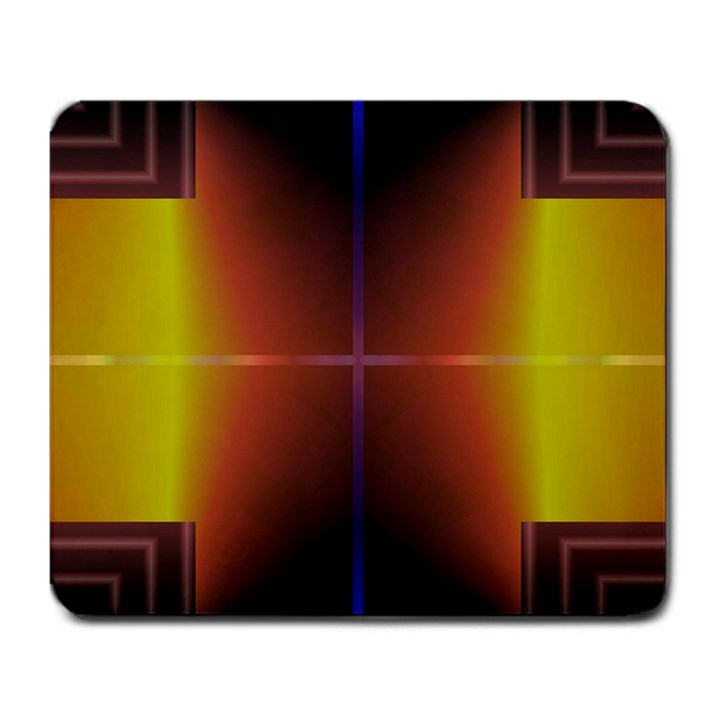 Abstract Painting Large Mousepads
