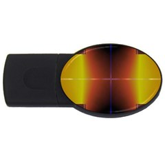 Abstract Painting USB Flash Drive Oval (1 GB)