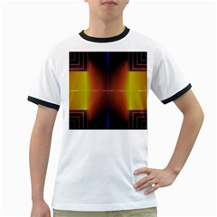 Abstract Painting Ringer T-Shirts